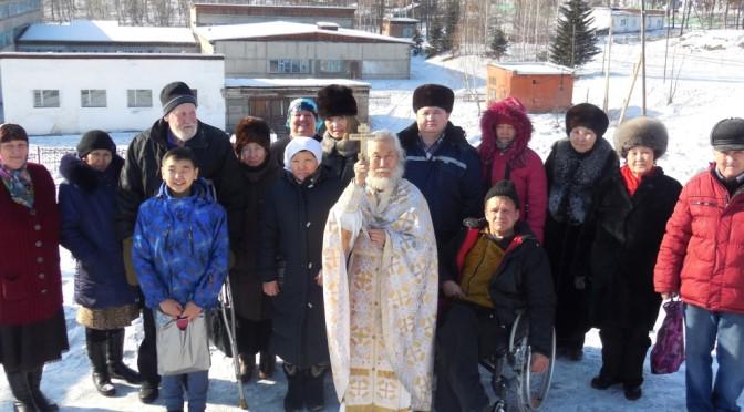 7 февраля. Храмовый праздник в посёлке Хову-Аксы